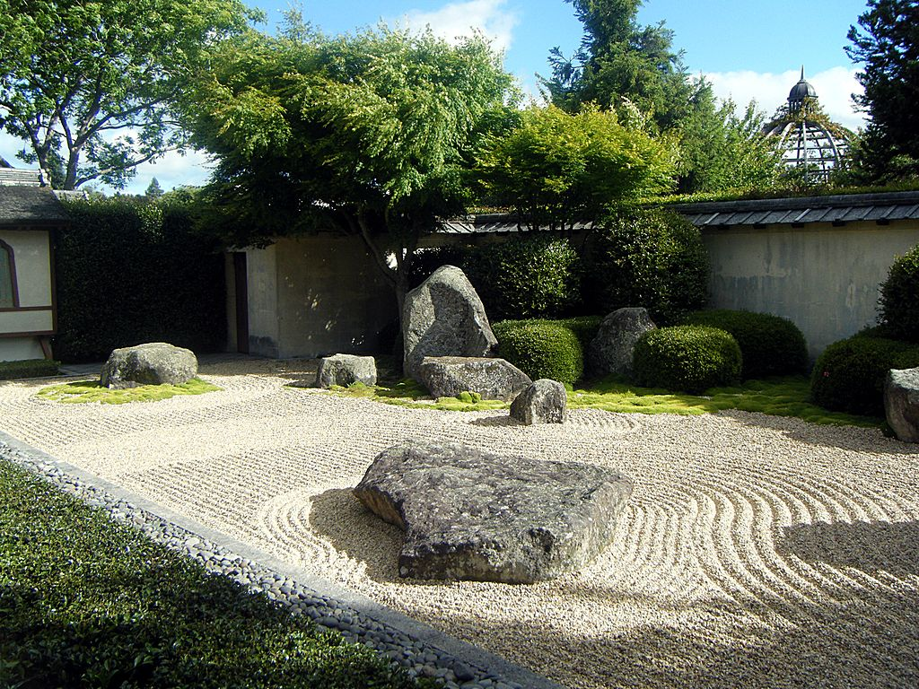 The 25 most inspiring japanese zen gardens university for New zealand garden designs ideas
