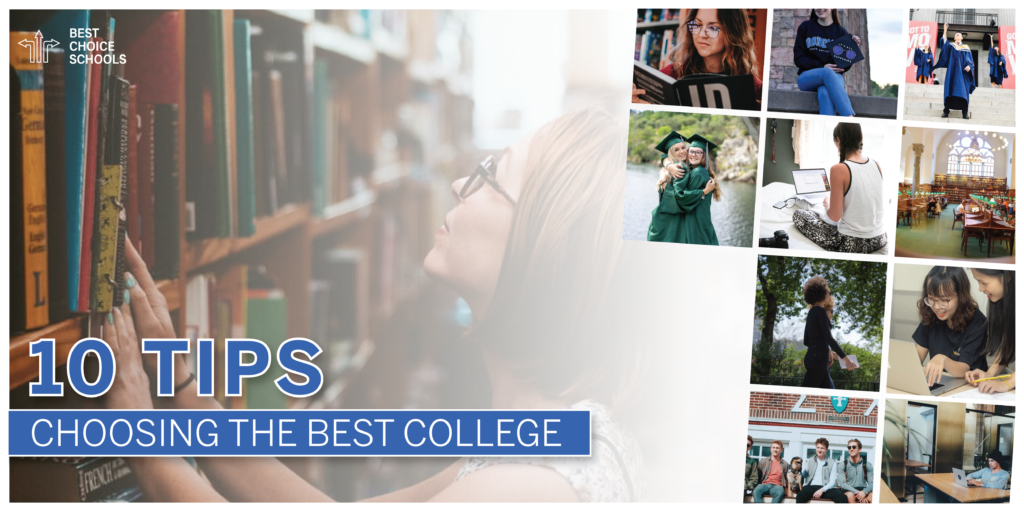 find the best college for me