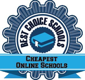 Cheapest Online Schools Badge