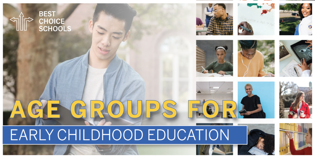 early childhood education age groups